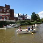 Tonbridge River trips and rowers