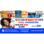 Sell Us Your Strips-Cash for Diabetic Test Strips - Washignton, DC, USA
