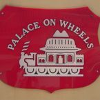 the palace on wheels train - A96 VK65, Dumfries and Galloway, United Kingdom