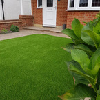 Artificial grass installation by Wonderlawn - Real looking fake grass