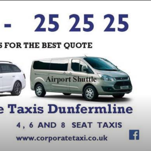 Corporate Taxi Dunfermline - Dunfermline, Fife, United Kingdom