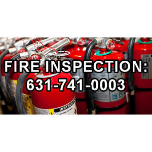 NY Fire Extinguisher Service Inspection