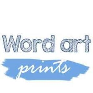 Word Art Prints - Glasgow, Highland, United Kingdom
